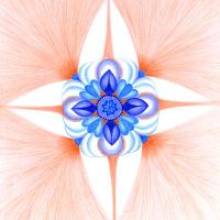 Anděl strážný - mandala
