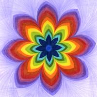 Všechny barvy života - mandala