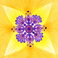 Duchovní mistr - mandala