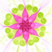 Uvolnění vzteku - mandala
